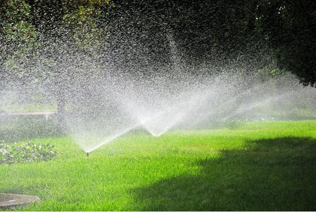 sprinkler system repair near me